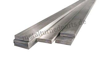 Flache Stahlstangen