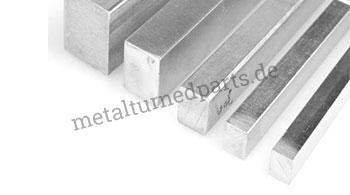 Quadratische Stahlstangen